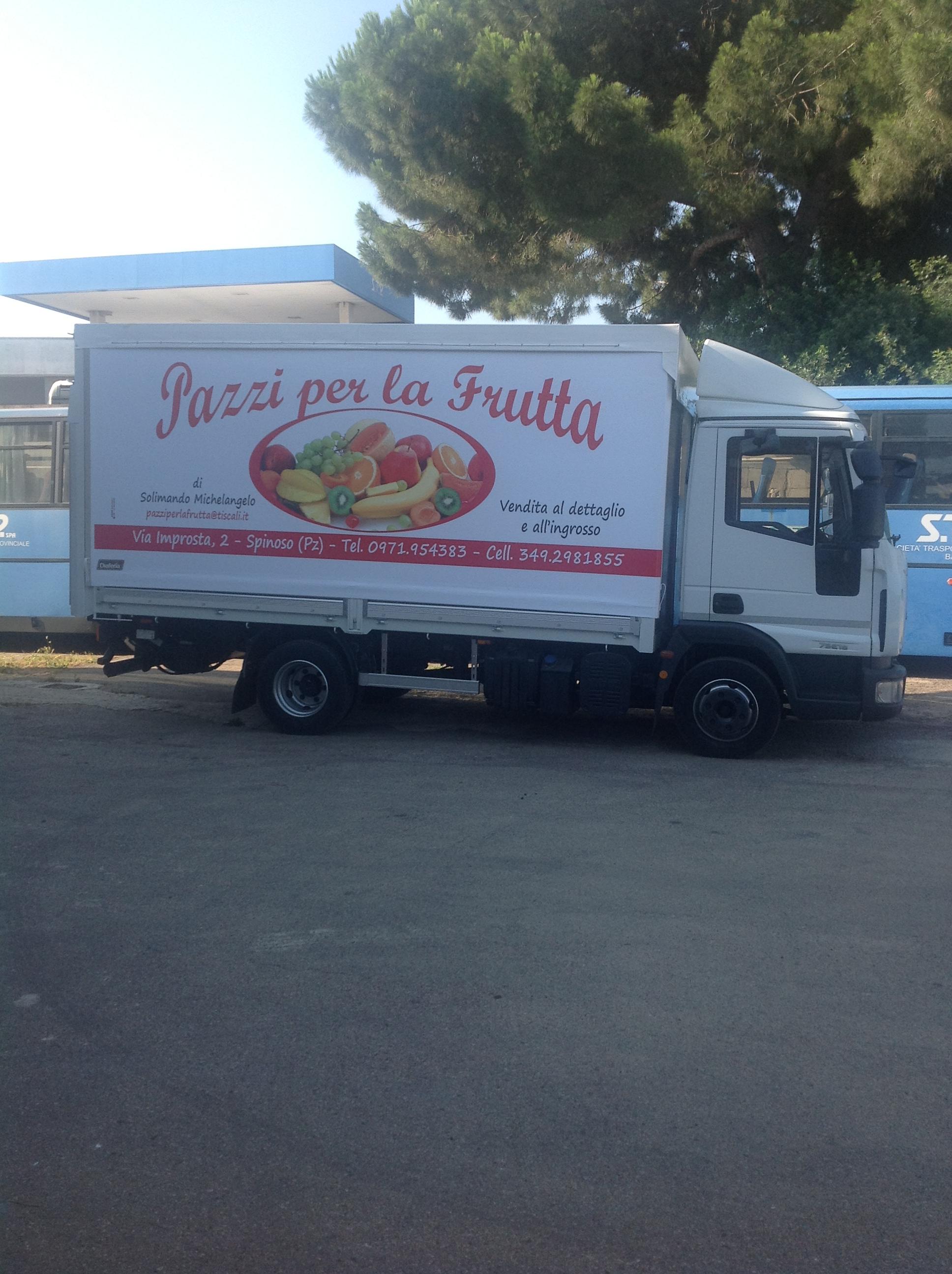 Personalizzazione pubblicità automezzi Bari