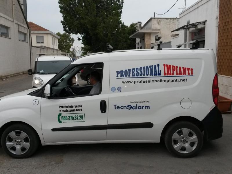 Personalizzazione automezzi Bari